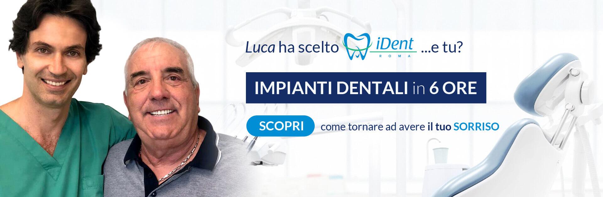 Impianti Dentali in 6 ore